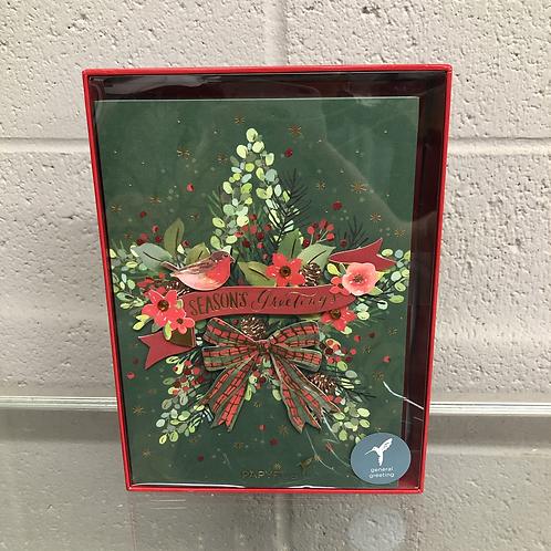 Seasons Greetings card pack
