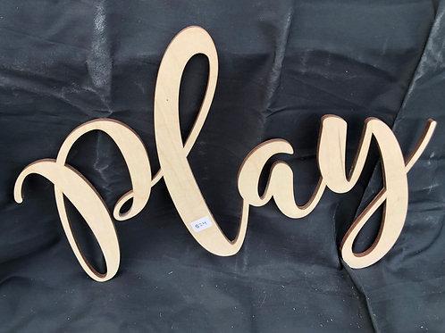 Play DIY Cutout