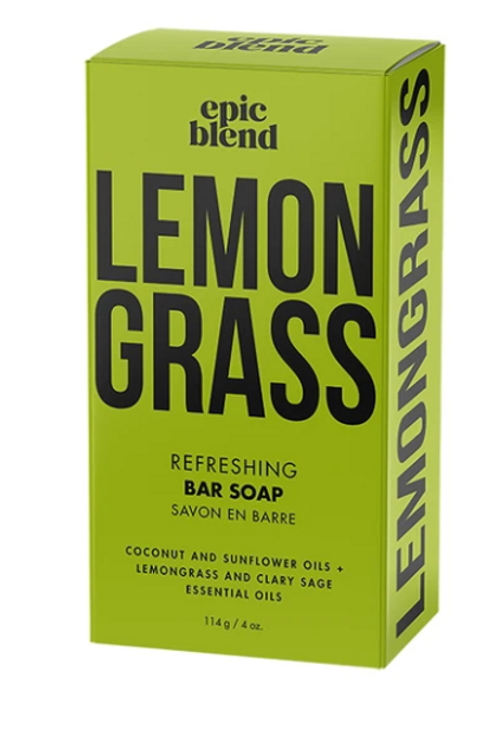 Lemongrass Refreshing Bar Soap