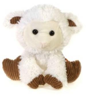 "9.5"" White Lamb"