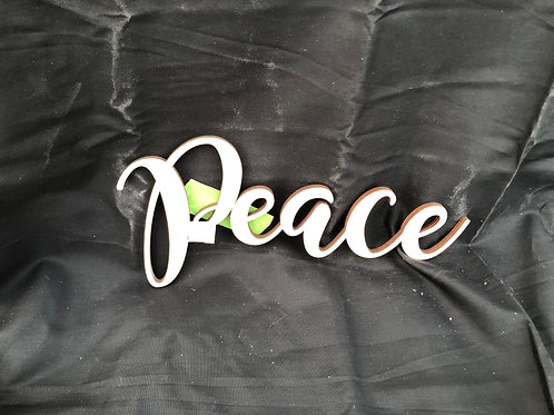 Peace DIY Cutout