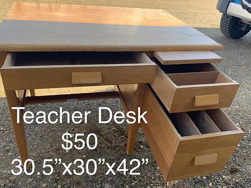 Teacher Desk - As Is