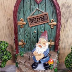 Fairy Garden Door & Gnome