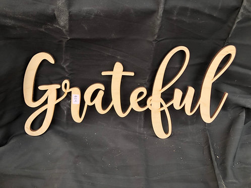 Grateful DIY Cutout