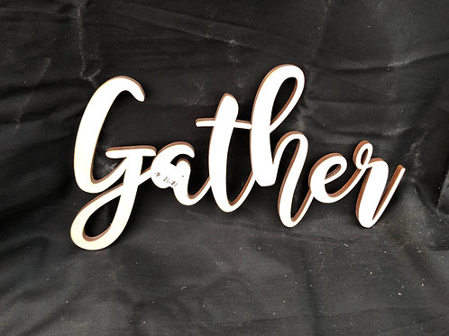Gather DIY Cutout