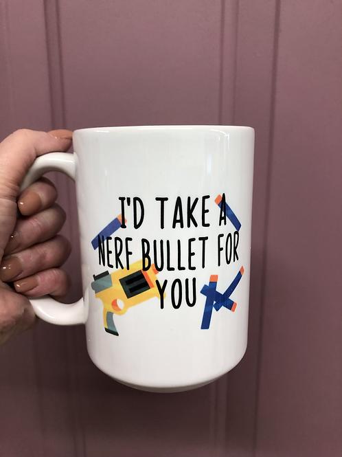 Nerf Bullet Mug