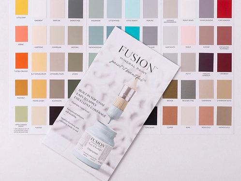 Fusion Colour Card (True to Colour)