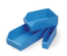 corrugated-plastic bins