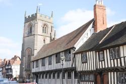 Tudor houses and church.jpg