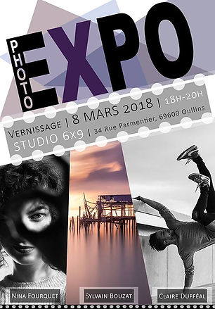 Affiche expo photo Oullins