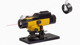New Accessory for Electronic Autocollimators - Rhomboidal Laser Projection Tool