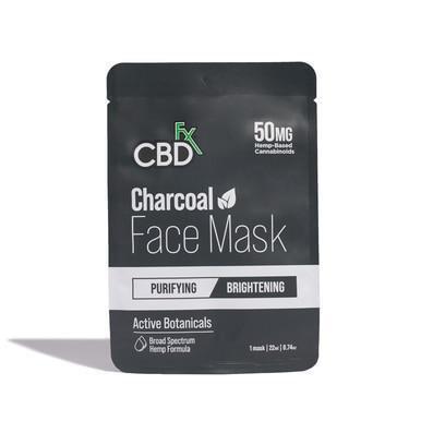 CBD Face Mask - Charcoal - 50mg