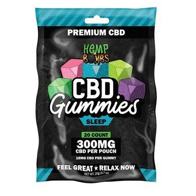 Hemp Bombs - CBD Edible - Sleep Gummies - 120mg-1500mg