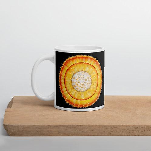 Black glossy mug copy