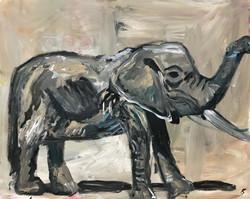éléphant_porte_bonheur,_92x73cm,_acrylique_sur_toile,_2018_sm
