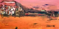 Collioure_au_crépuscule,_60x120cm,_acrylique_sur_toile,_2017_sm