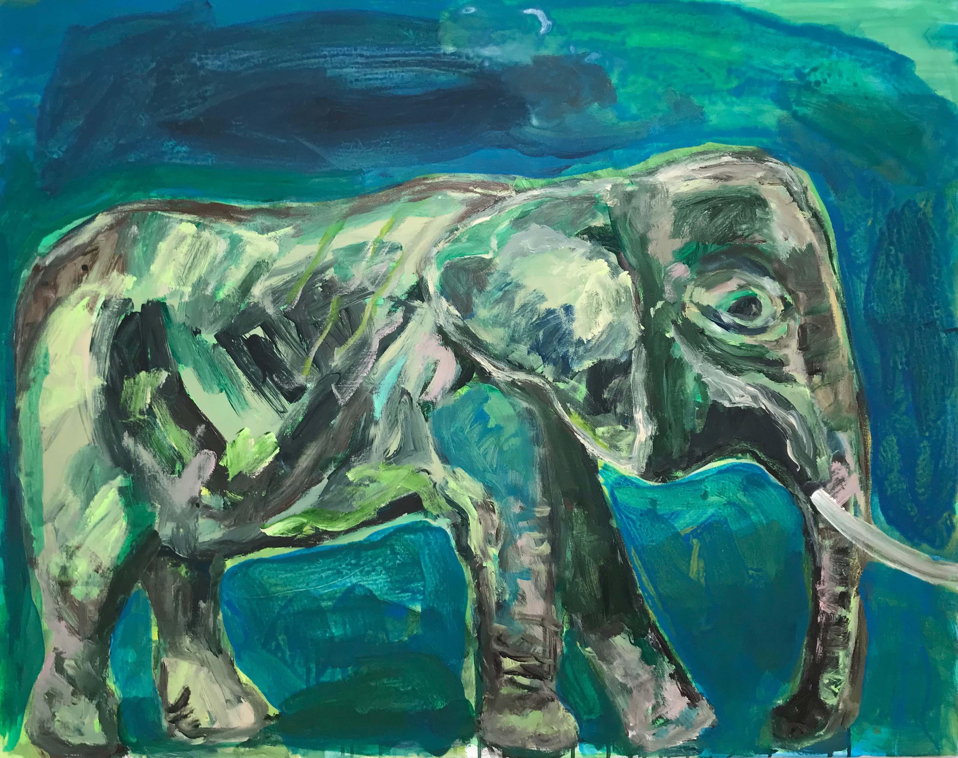 éléphant_vert,_116x89cm,_acrylique_sur_toile,_2018_sm