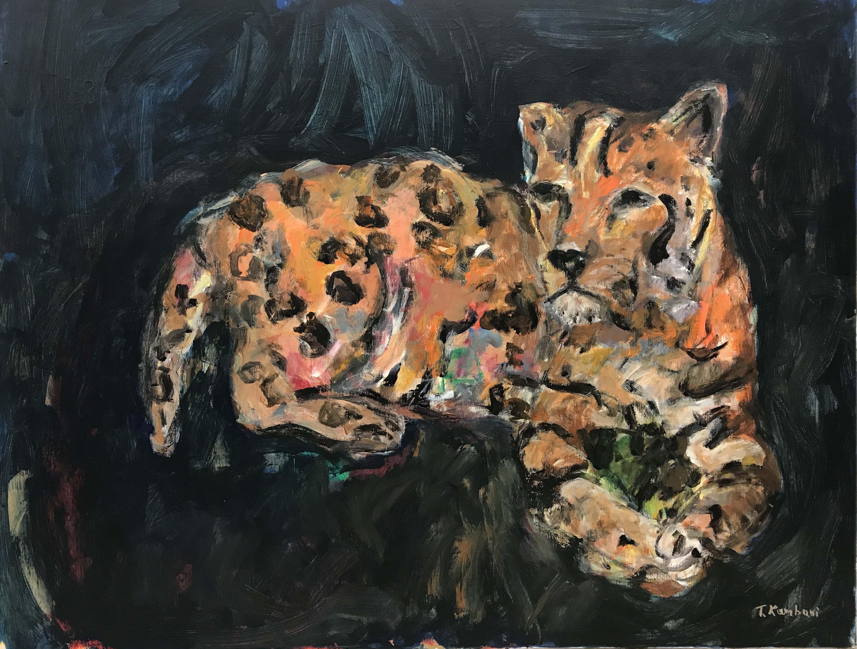 Inner energy, 116x89cm, Acrylique sut toile, 2018 sm