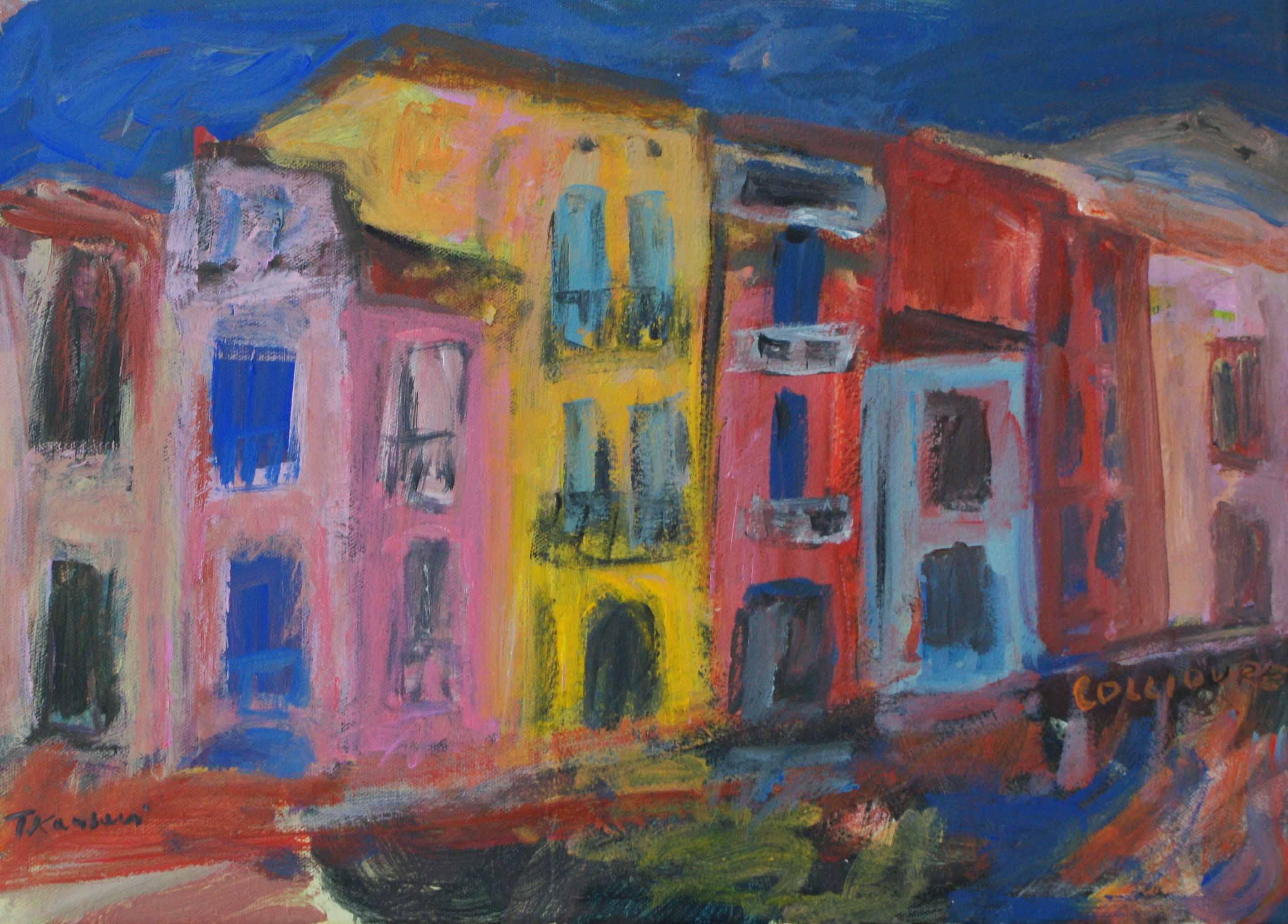Collioure maisons sm