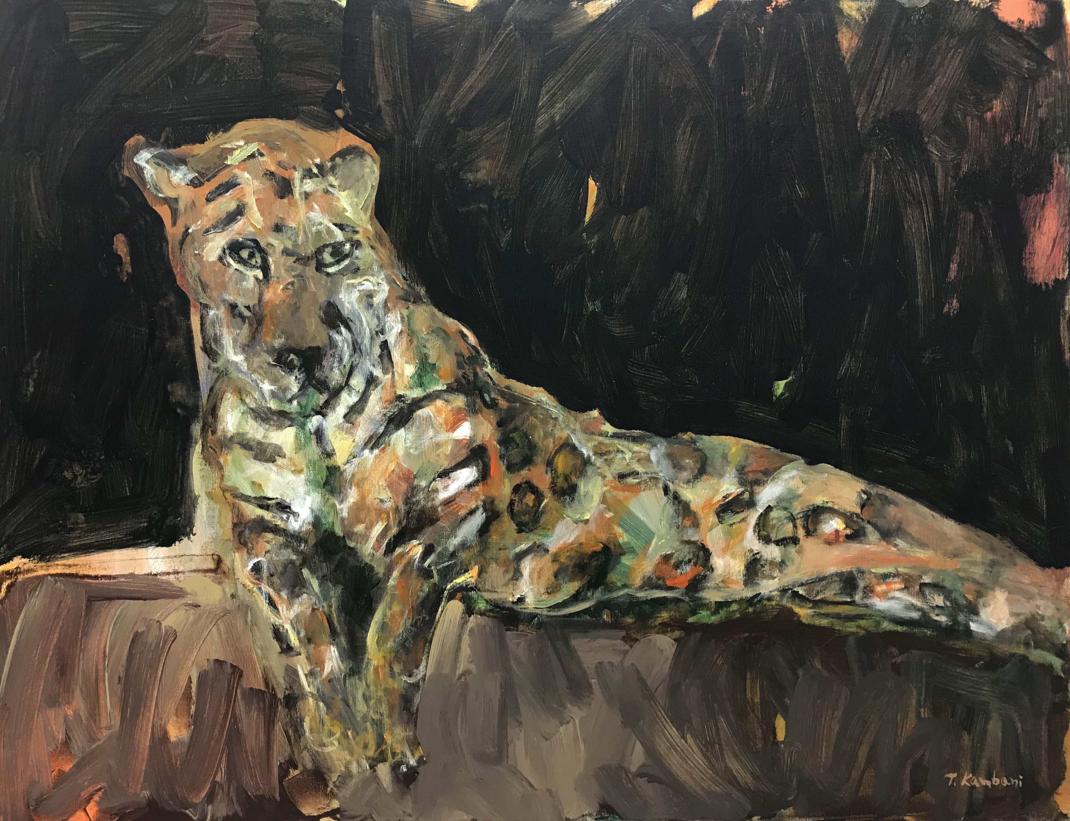 Resting, 116x89cm, Acrylique sur toile, 2018 sm