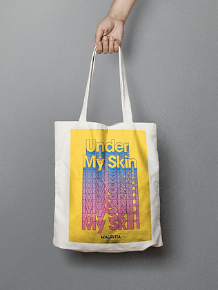 Skin Lyric Tote Bag