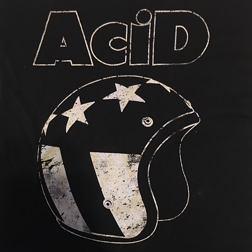 "ACID 3"" X 3"" HELMET LOGO DECAL"