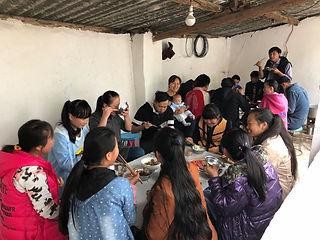 chris bible school evangilism meal.jpg
