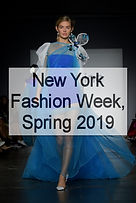 New York Fashion Week, S/S 2019