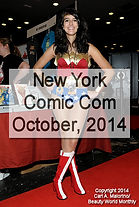 New York Comic Con - October, 2014