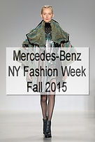 Mercedes-Benz NY Fashion Week, F/W 2015