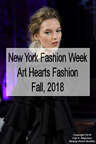 New YorkFashion Week, Art Hearts, F/W 2018