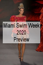 Miami Swim Week 2020 Preview