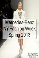 Mercedes-Benz NY Fashion Week, S/S 2013