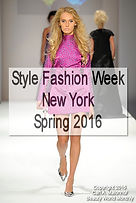 Style Fashion Week New York, Spring 2016