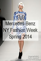 Mercedes-Benz NY Fashion Week, S/S 2014