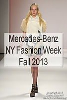 Mercedes-Benz NY Fashion Week, F/W 2013