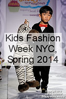 Kids Fashion Week NYC, Spring 2014
