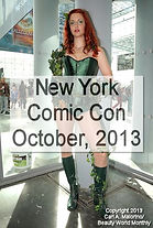 New York Comic Con - October, 2013