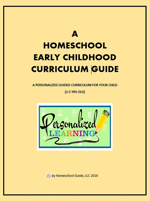 Early Childhood Home-School Curriculum Guide