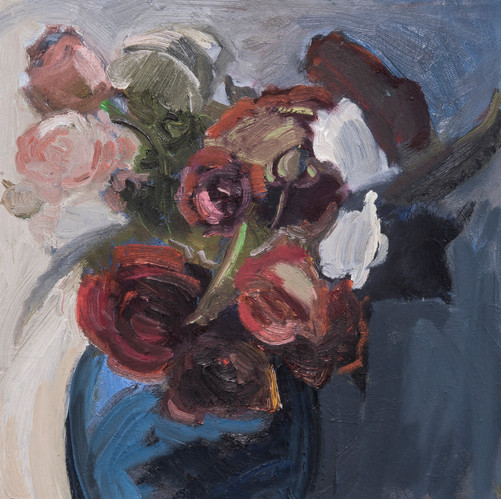 Blue Vase. 2018