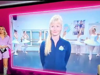 Live op TV bij De dansmarathon