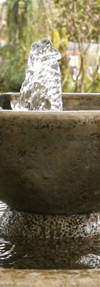 石の庭の噴水