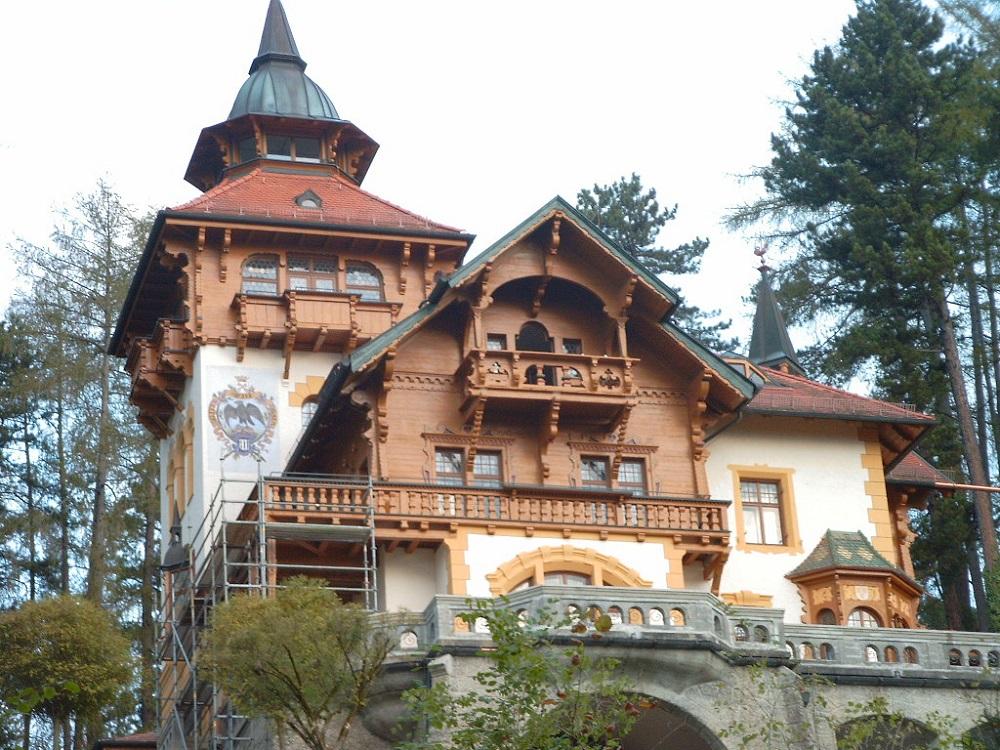 historisches-Haus -kleiner-