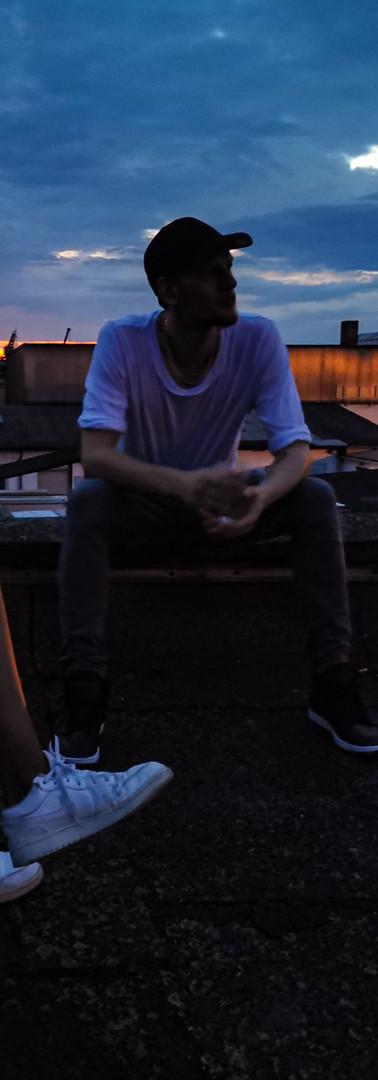 Auf den Dächern