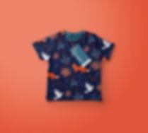 Chirstmas print kids tshirt.jpg