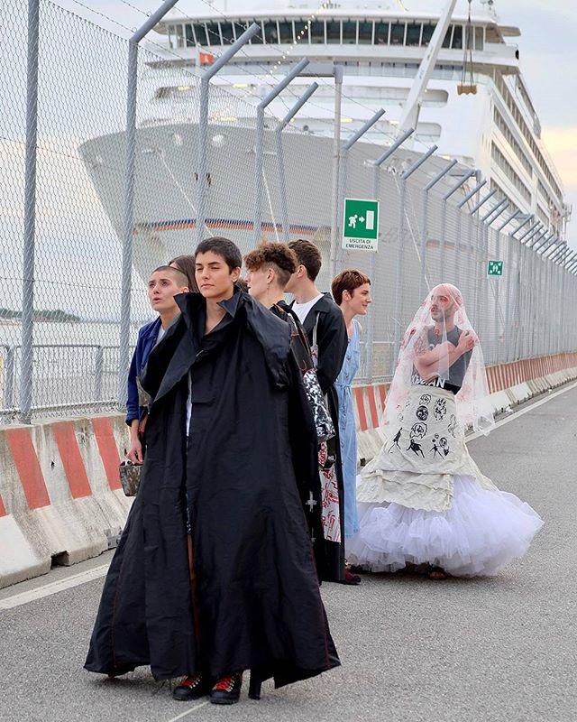#fashionatiuav2017 #fashionatiuav #iuavgraduationshow #prove #linnocenzadelmuro #iuav #venice #Venez
