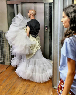 #fashionatiuav2017 #fashionatiuav #iuavgraduationshow #backstage #linnocenzadelmuro #iuav #venice #V