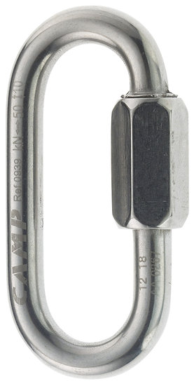 CAMP SAFETY - MAILLON RAPIDE INOX OVAL 8mm - CA 0939.01