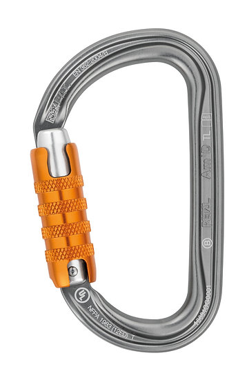 PETZL - CONNECTEUR AM'D TRI-ACT LOCK - M34ATL