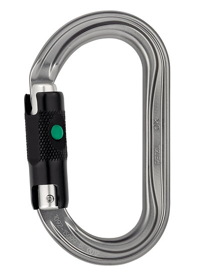 PETZL - CONNECTEUR OK TRI-ACT LOCK - M33ATL